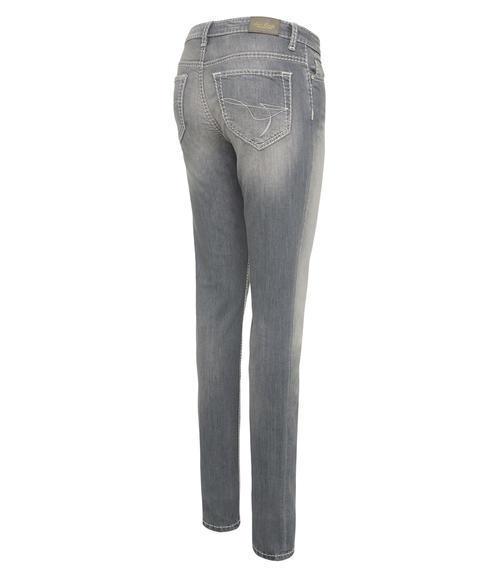 Světlé džíny se sepraným efektem|31 - 4