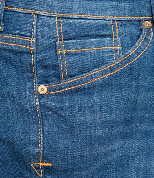 Slim Fit Jeans SDU-9999-1710 Vintage Used|26 - 4