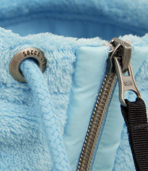 Flísová mikina SPI-1710-3643 cold blue|XXL - 4