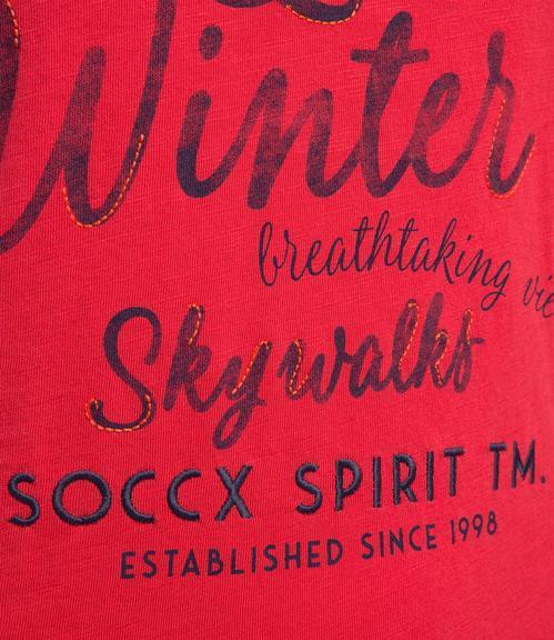 Tričko SPI-1809-3900  creamy red|XS - 4