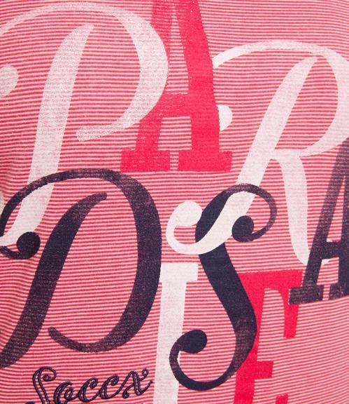 Tričko SPI-1809-3902 creamy red|S - 4
