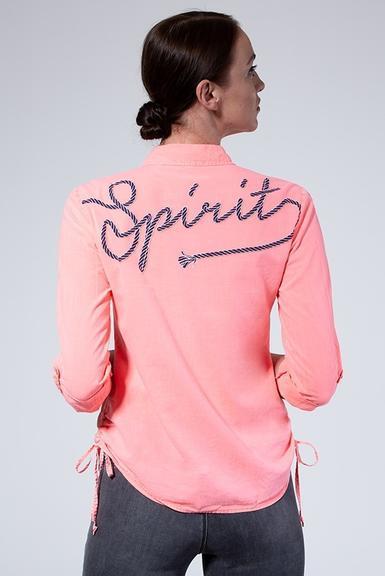 Košile SPI-1906-5862 Neon Coral|S - 4