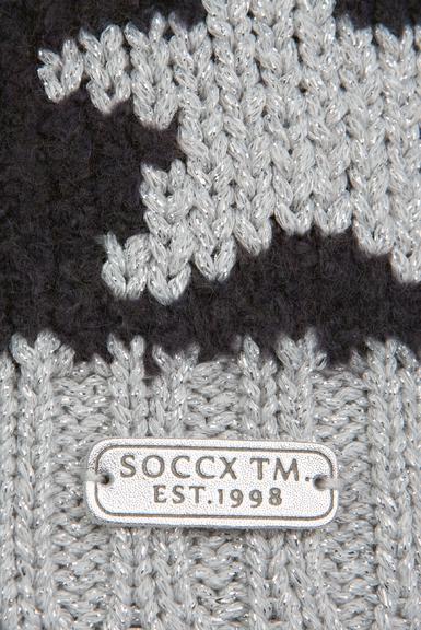 Čepice SPI-1955-8203 dark grey melange 0 - 4