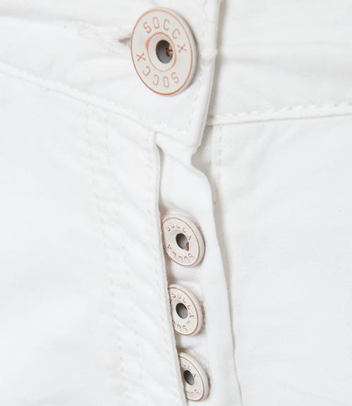 Bílé 3/4 kalhoty|M - 4