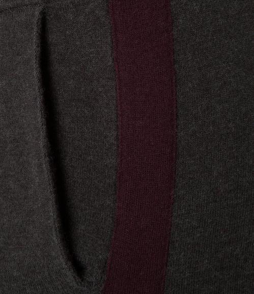 vlněné černé kalhoty S - 4