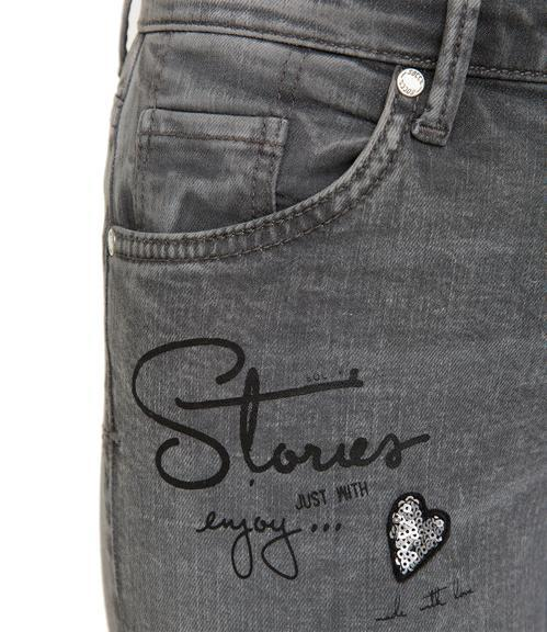 Slim Fit Jeans STO-1801-1149 grey used|26 - 4