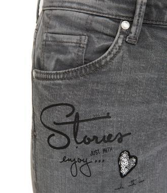 Slim Fit Jeans STO-1801-1149 grey used - 4/7