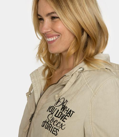 Parka STO-1812-2202 cold beige|XS - 4