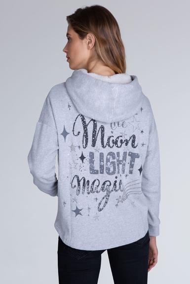Mikina STO-1909-3190 moon grey melange|XXL - 4