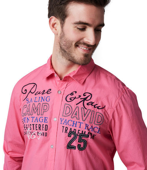 Košile CCU-1900-5610 Deep Pink|S - 4