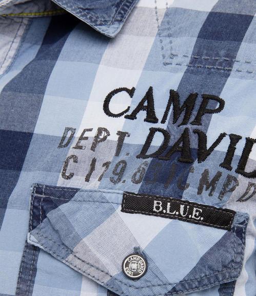 Košile CCB-1709-5751 indigo|S - 4