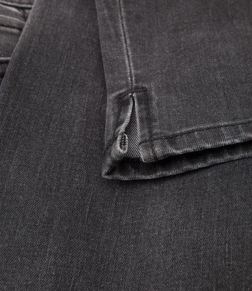 Slim Fit Jeans STO-1709-1680 dark grey used|26 - 4
