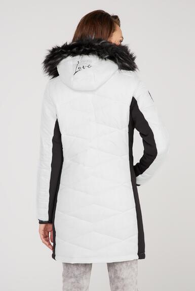 Kabát SP2155-2299-31 ivory|M - 5