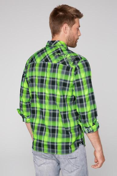 Košile CB2108-5206-21 neon lime|M - 5