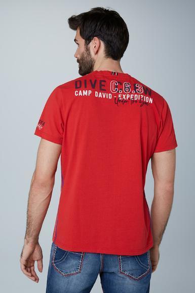 Tričko CCU-2000-3156 royal red L - 5