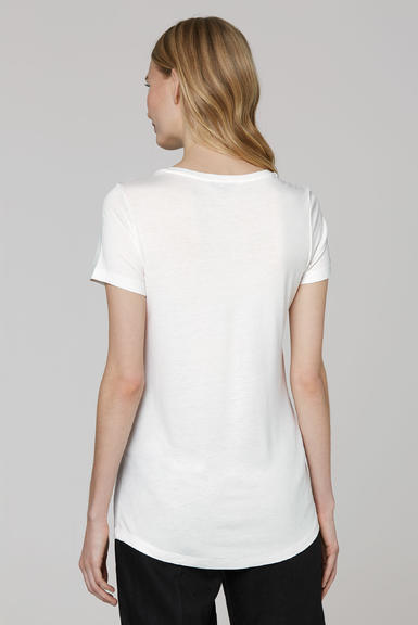 Tričko SCU-2000-3381 Cotton White S - 5