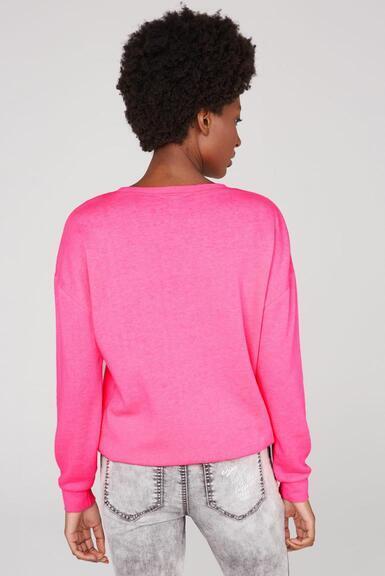 Mikina SP2155-3359-63 knockout pink|XL - 5