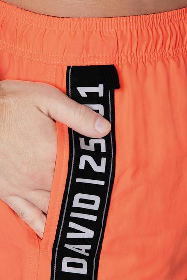 Plážové kraťasy CCB-2004-1625 neon orange|XXL - 5
