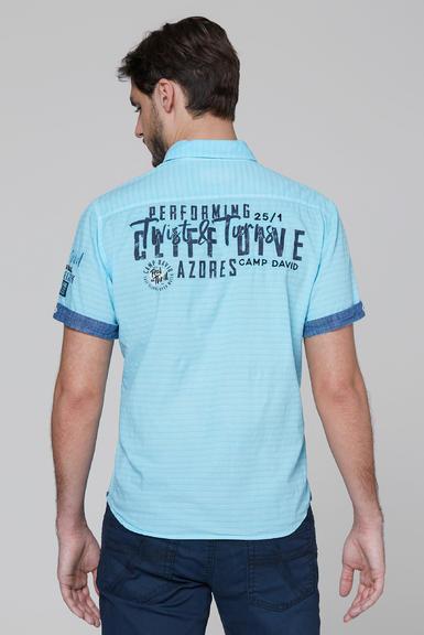 Košile CCB-2004-5678 fresh aqua|S - 5
