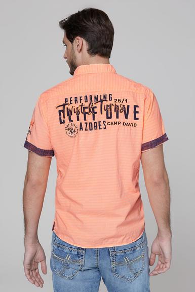 Košile CCB-2004-5678 neon orange|S - 5