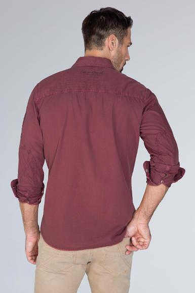 Košile CCG-1910-5080 maroon red|M - 5