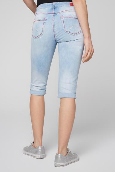 Džínové 3/4 kalhoty SDU-2000-1868 sunny bleached|28 - 5