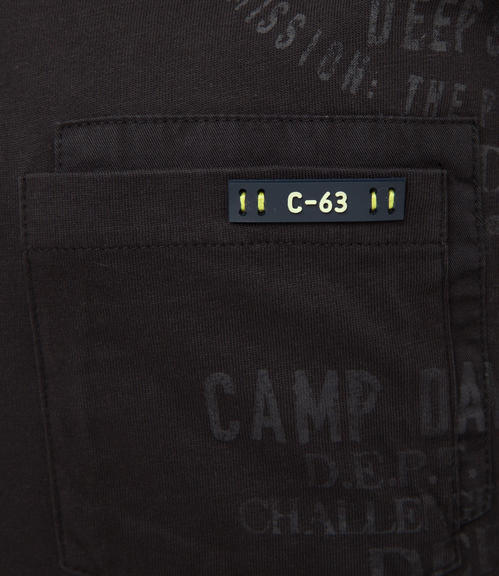 Tričko CCB-1709-3738 black|XXL - 5