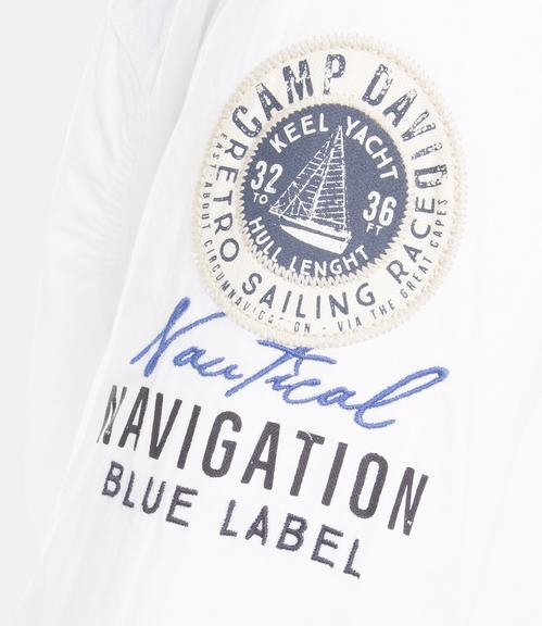 Košile CCB-1901-5098 optic white|L - 5