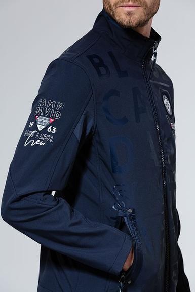 Softshellová bunda CCB1907-3844 Vintage Navy|M - 5
