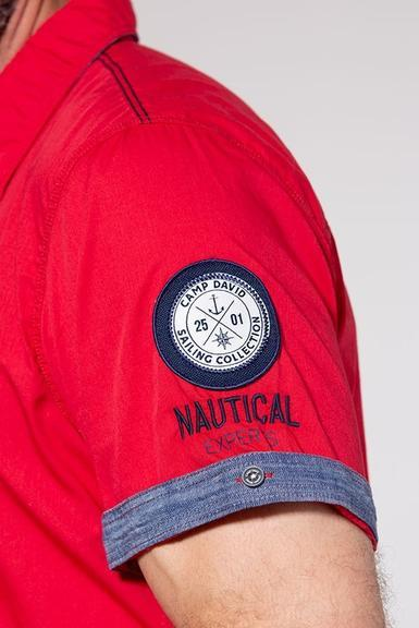 Košile CCB-1907-5838 Royal Red|M - 5
