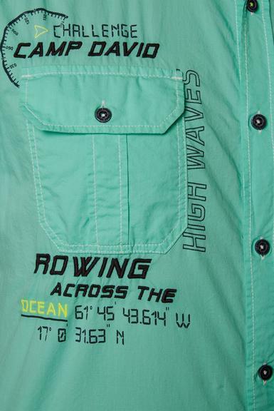 Košile CCB-1912-5429 azure|S - 5