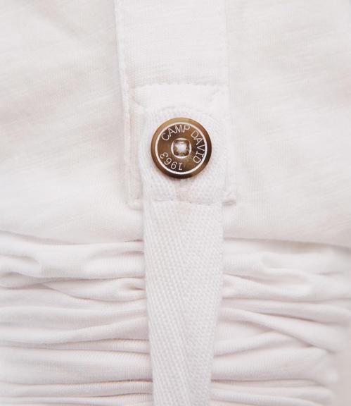 Bílé tričko s dlouhým rukávem|S - 5