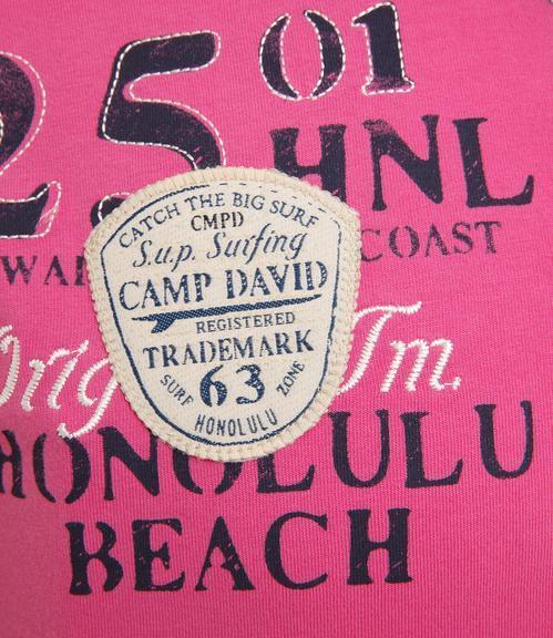 Polotričko CCU-1855-3599 deep pink|XXL - 5