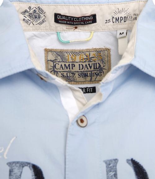 Košile Regular Fit CCU-1855-5598 summer blue|M - 5