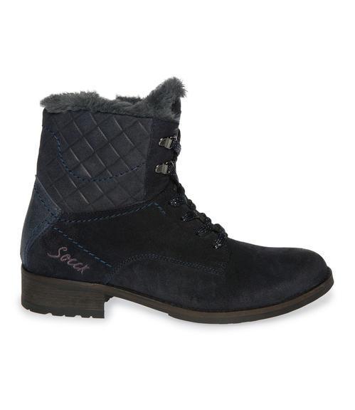 Semišové boty SCU-1755-8946 dusty black|38 - 5
