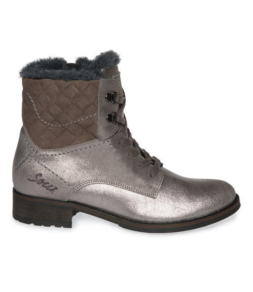 Semišové boty SCU-1755-8946 silver grey|41 - 5