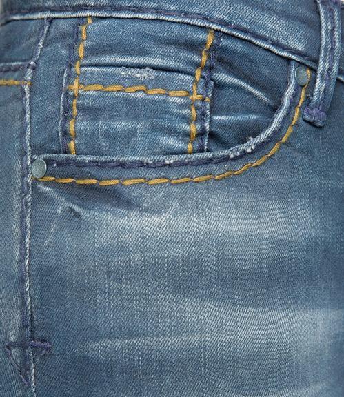 Džíny SDU-1855-1303 indigo vintage|26 - 5