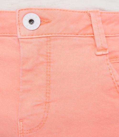 Džínová sukně SDU-1900-7392 intense orange S - 5