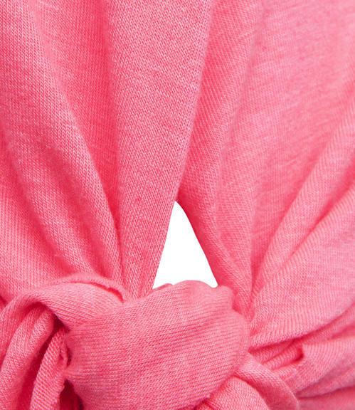 růžové tílko s uzlem Soccx on the Beach|XL - 5