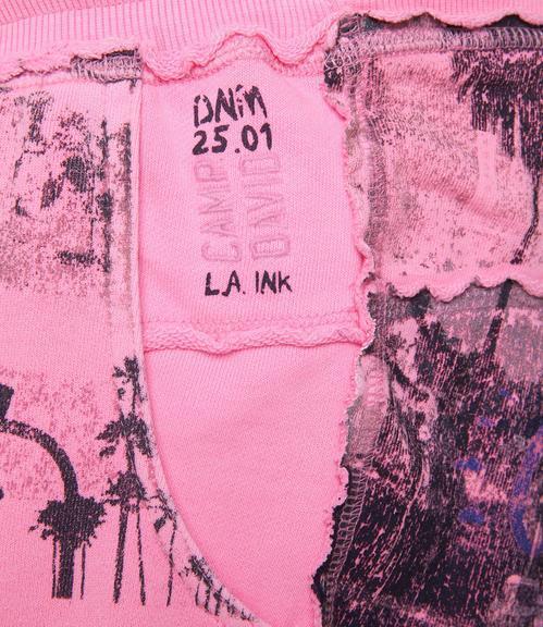 kraťasy CCD-1805-1482 neon pink|XXL - 5