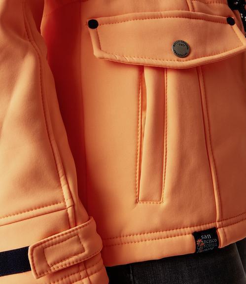 Softshellová bunda SPI-1900-2170 lush orange|XS - 5
