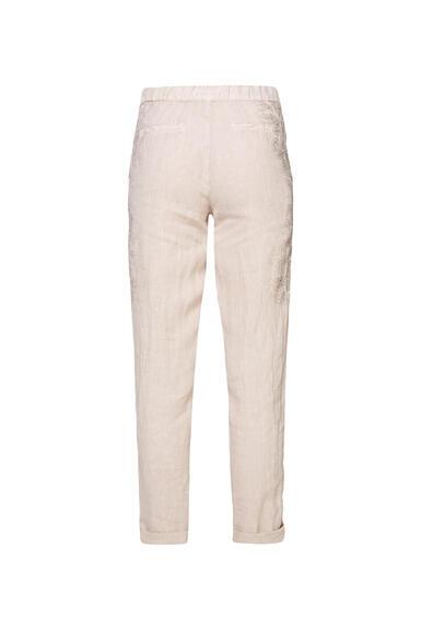 Plátěné kalhoty STO-2004-1853 desert beige/spicy orange|S - 5