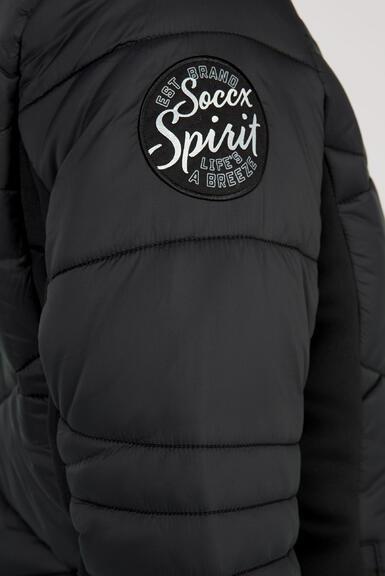 Kabát SP2155-2299-32 black|M - 6