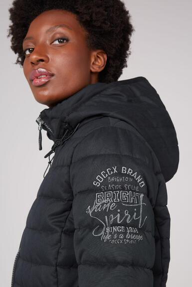 Kabát SP2155-2305-45 black|XS - 6