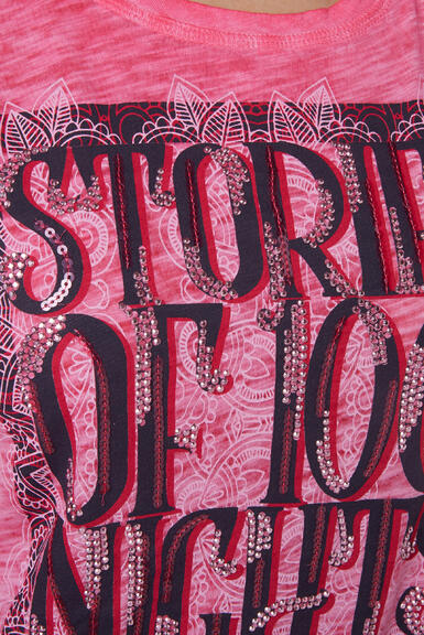 Tričko STO-2004-3842 oriental pink|XXL - 6