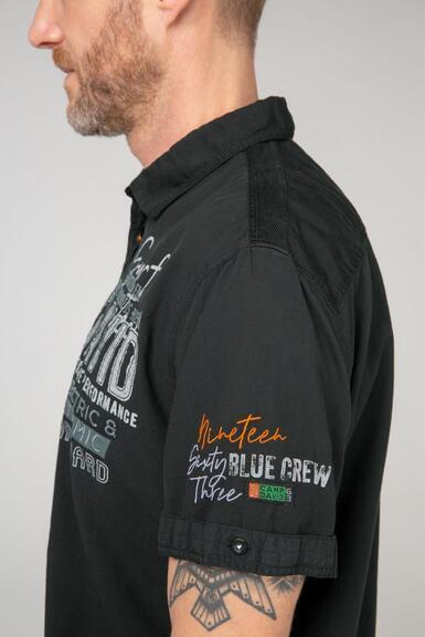 Košile CCB-2102-5780 black|L - 6