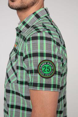 shirt 1/2 chec CCB-2102-5781 - 6/7