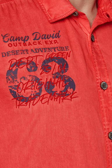 Košile CCG-2003-5713 red orange|M - 6