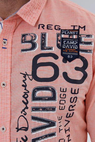 Košile CCB-1908-5009 mission orange|S - 6