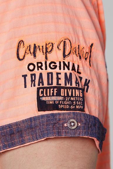 Košile CCB-2004-5678 neon orange|S - 6